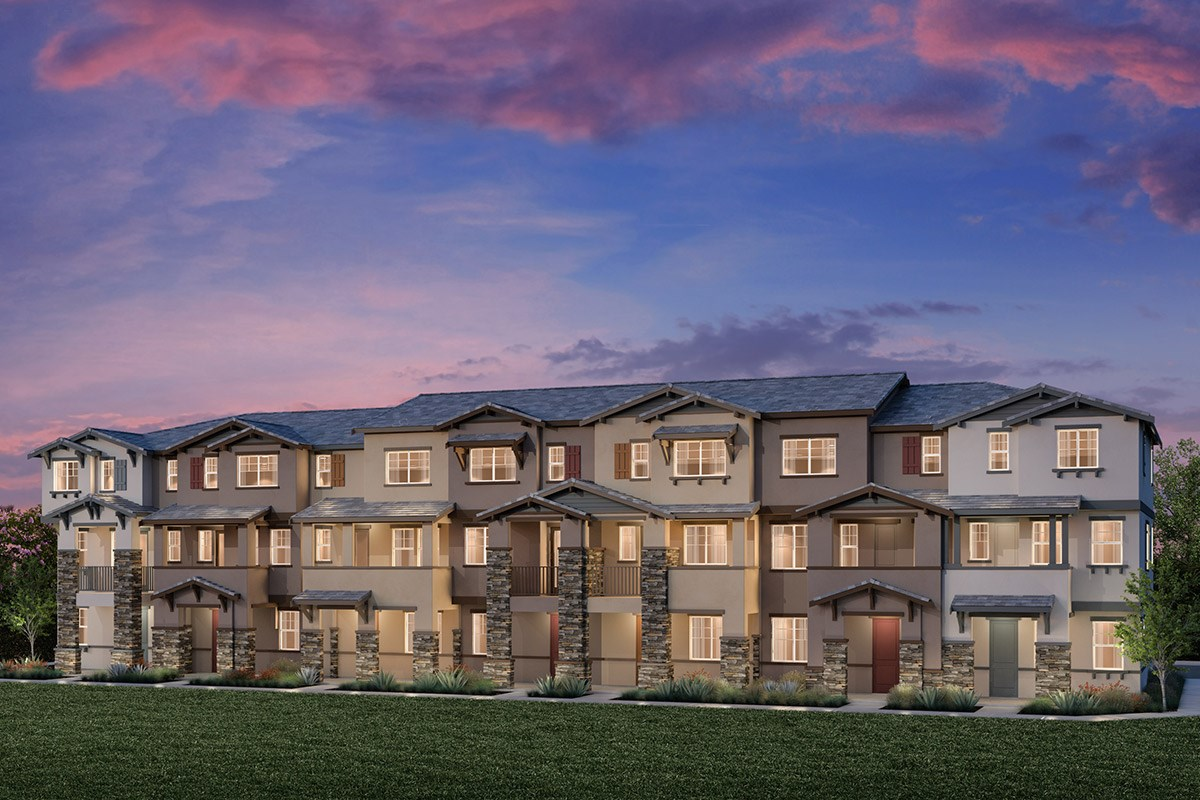 New Homes in Hayward, CA - Element 7-Plex Building D