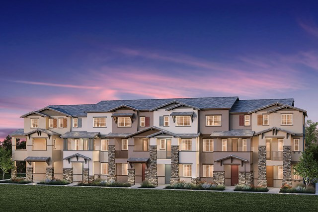 New Homes in Hayward, CA - 6-Plex Building E