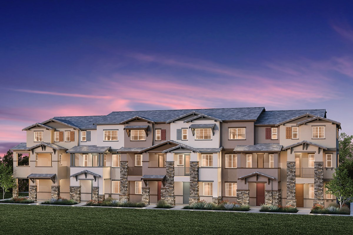 New Homes in Hayward, CA - Element 6-Plex Building E
