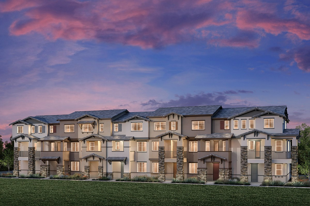 New Homes in Hayward, CA - Element 7-Plex Building F