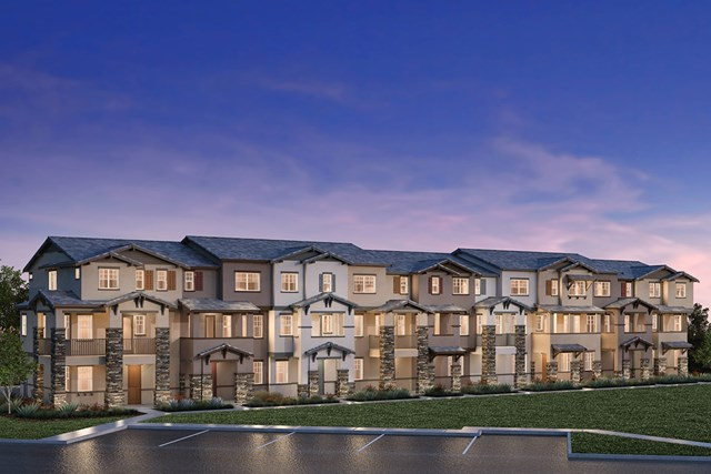 New Homes in Hayward, CA - 9-Plex Building G
