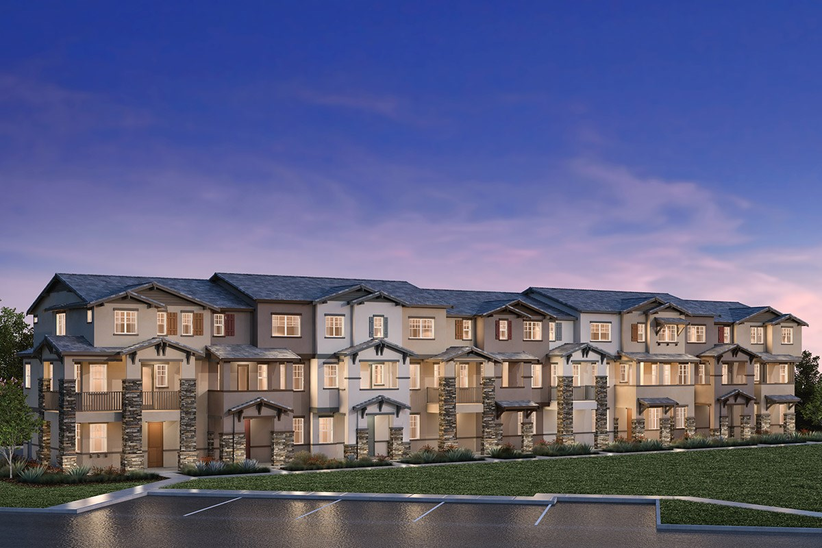 New Homes in Hayward, CA - Element 9-Plex Building G