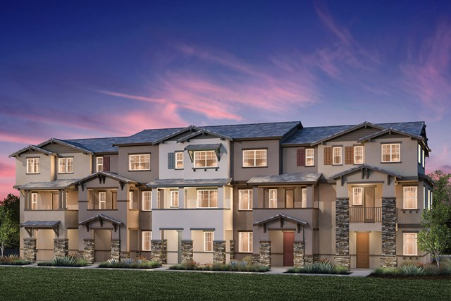 New Homes in Hayward, CA - 5-Plex Building H