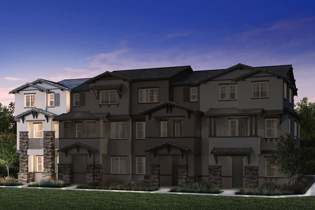 New Homes in Hayward, CA - 4-Plex Elevation 1L