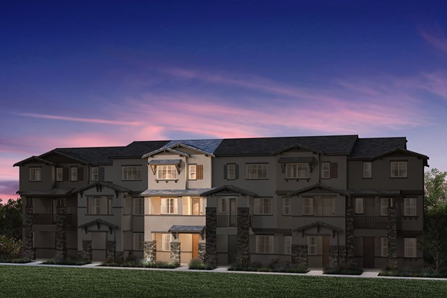 New Homes in Hayward, CA - 6-Plex Elevation 1B