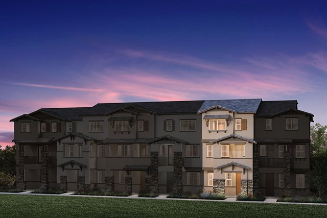 New Homes in Hayward, CA - 6-Plex Elevation 1C