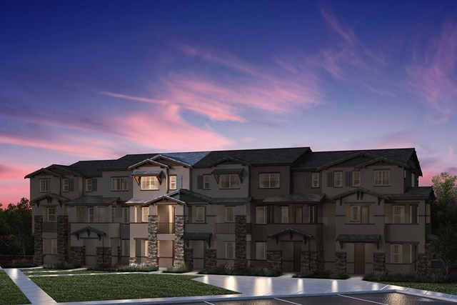 New Homes in Hayward, CA - 6-Plex Elevation 1J