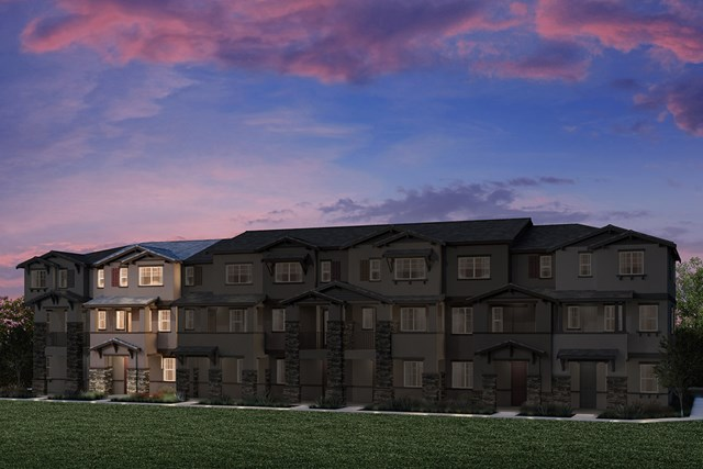 New Homes in Hayward, CA - 7-Plex Elevation 1E (Reverse)