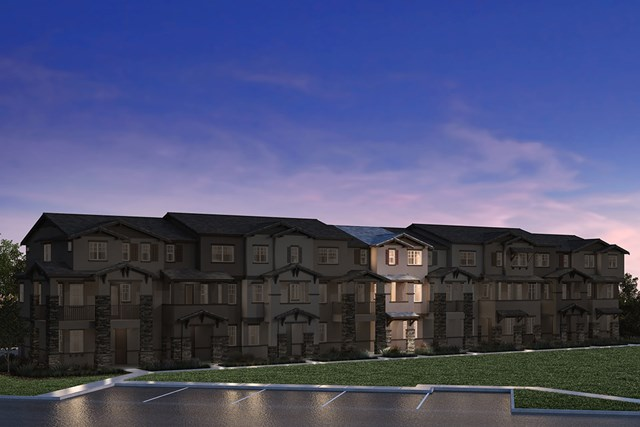 New Homes in Hayward, CA - 9-Plex Elevation 1D (Reverse)