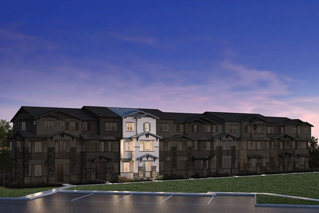 New Homes in Hayward, CA - 9-Plex Elevation 1K
