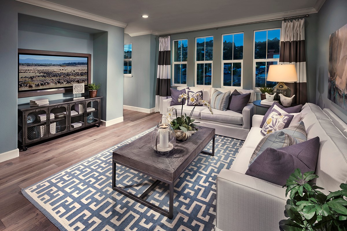 New Homes in Hayward, CA - Hideaway Plan 1 Living Room