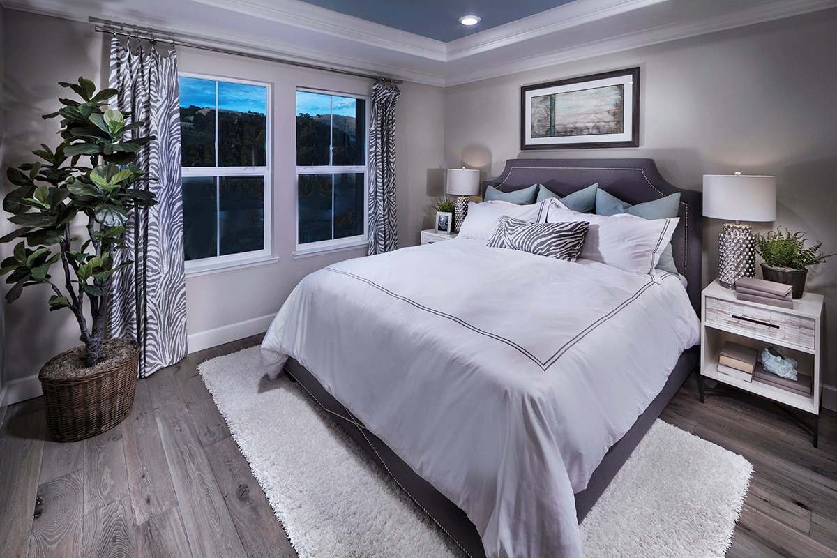 New Homes in Hayward, CA - Hideaway Plan 1 Master Bedroom