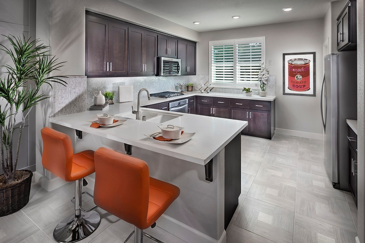 New Homes in Hayward, CA - Hideaway Plan 2 Kitchen