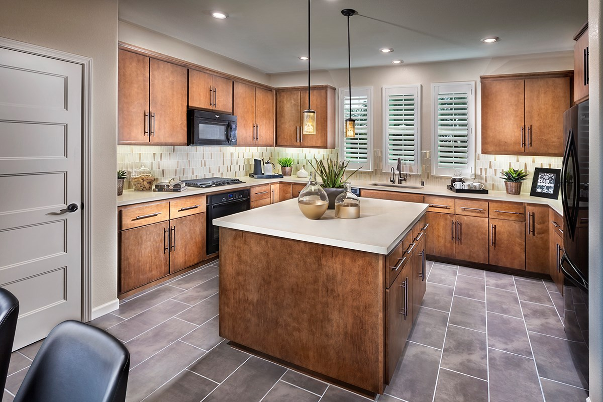 New Homes in Hayward, CA - Hideaway Plan 3 Kitchen