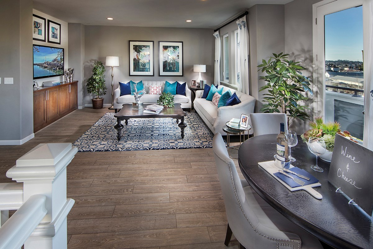New Homes in Petaluma, CA - Jade Plan 4 Living Room