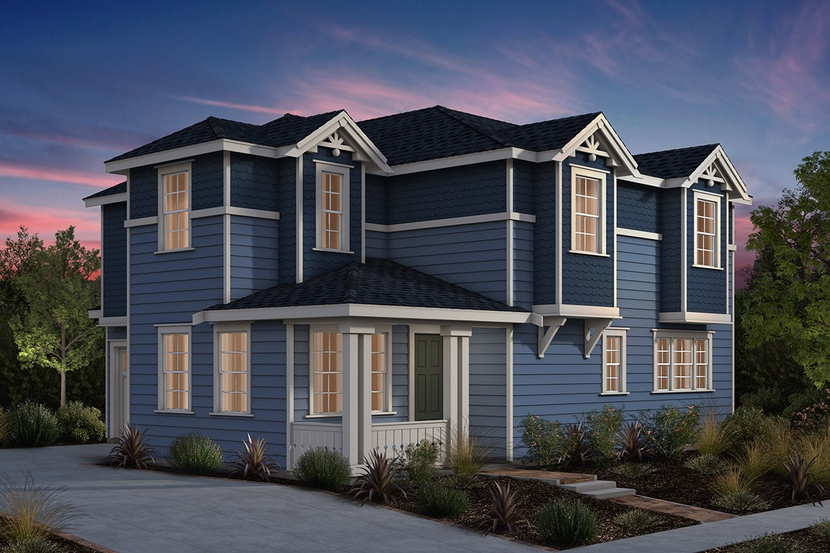 New Homes in Fremont, CA - Laurel at Patterson Ranch Plan 1 Victorian Elevation