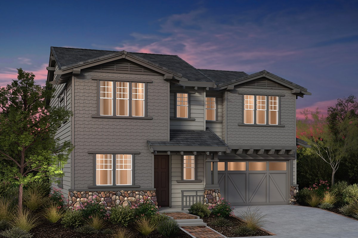 New Homes in Fremont, CA - Laurel at Patterson Ranch Plan 4 Craftsman Elevation