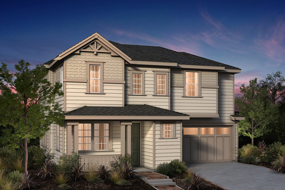 New Homes in Fremont, CA - Laurel at Patterson Ranch Plan 2 Victorian Elevation