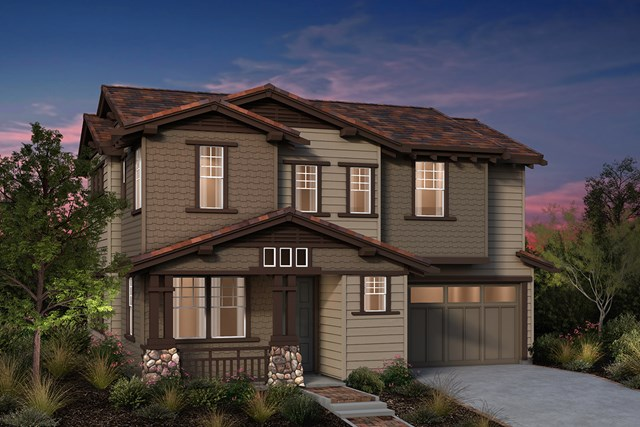 New Homes in Fremont, CA - Craftsman