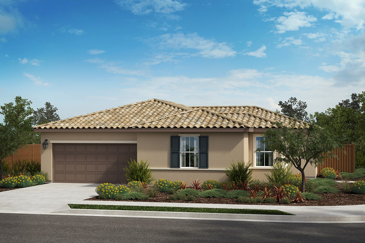 New Homes in Rohnert Park , CA - Live Oak at University District Plan 1 Italianate C