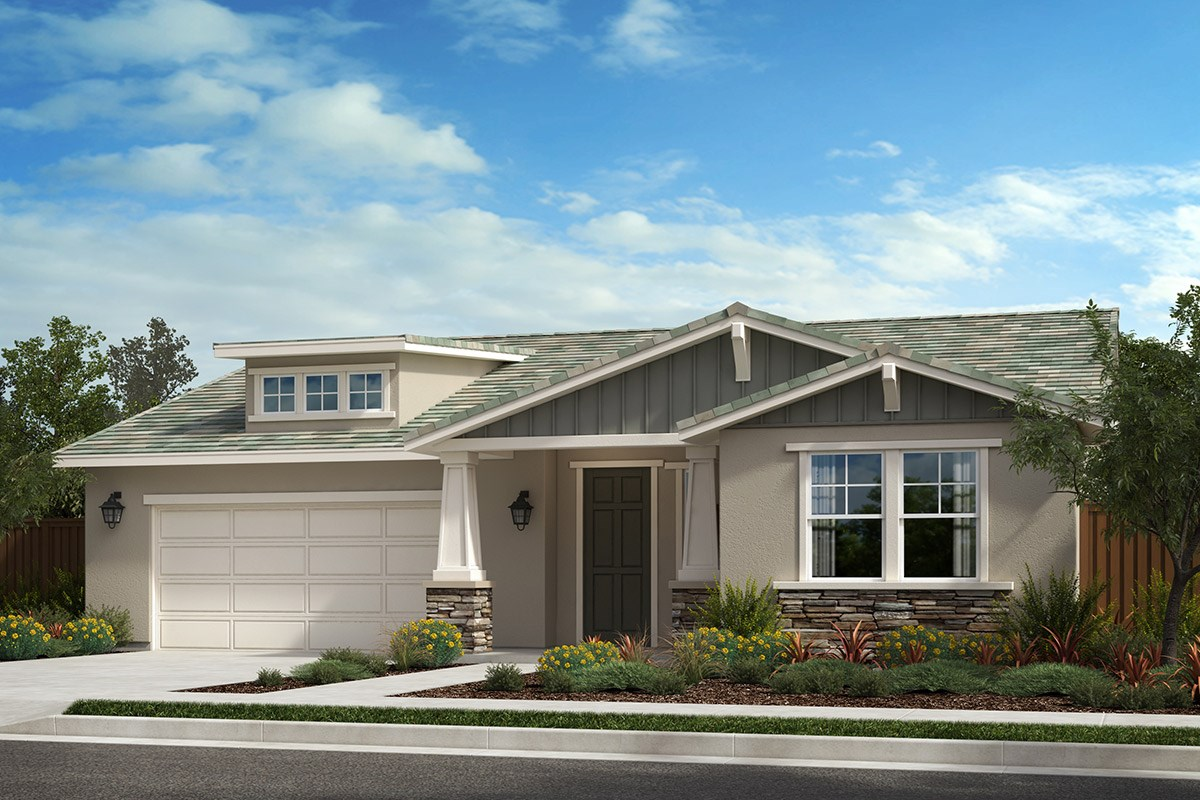 New Homes in Rohnert Park , CA - Live Oak at University District Plan 2004 Craftsman B