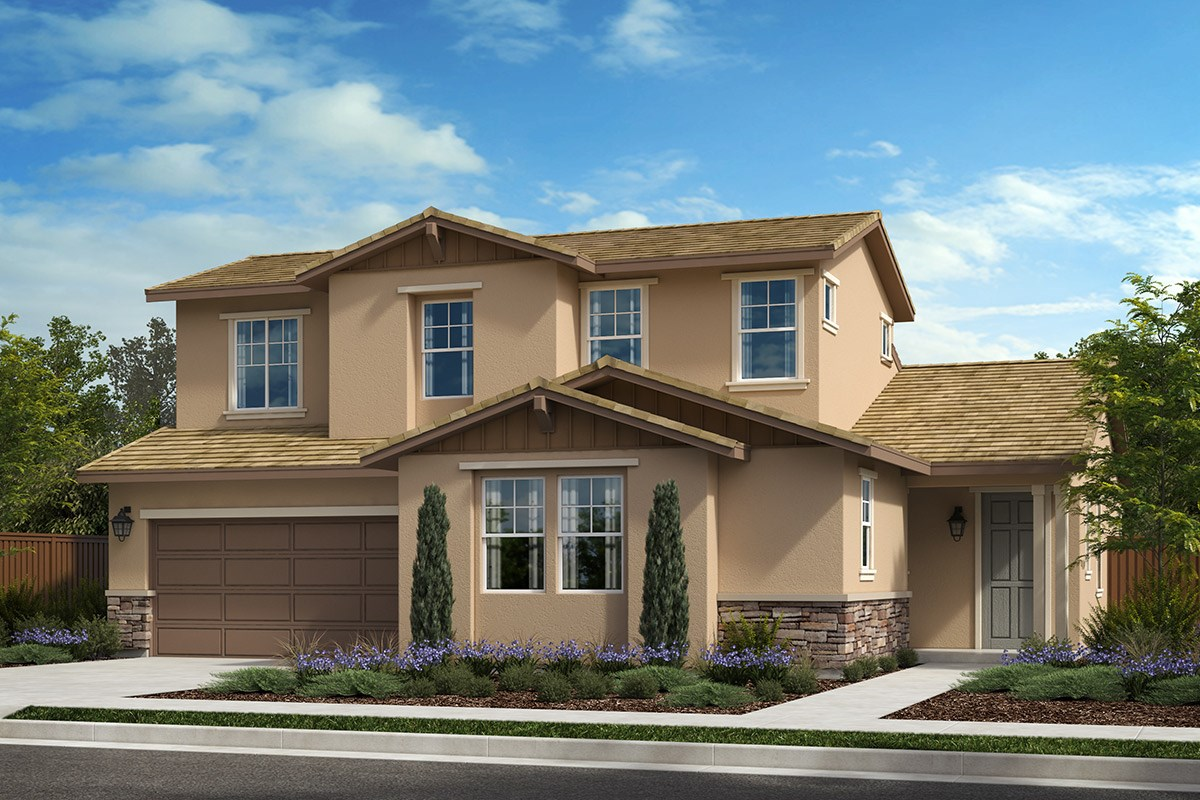 New Homes in Rohnert Park , CA - Live Oak at University District Plan 3 Craftsman B