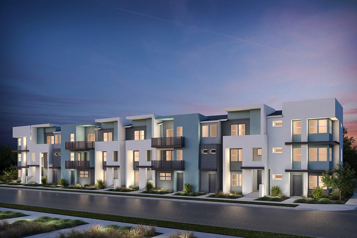 New Homes in Milpitas, CA - Lucente 10-Plex Building