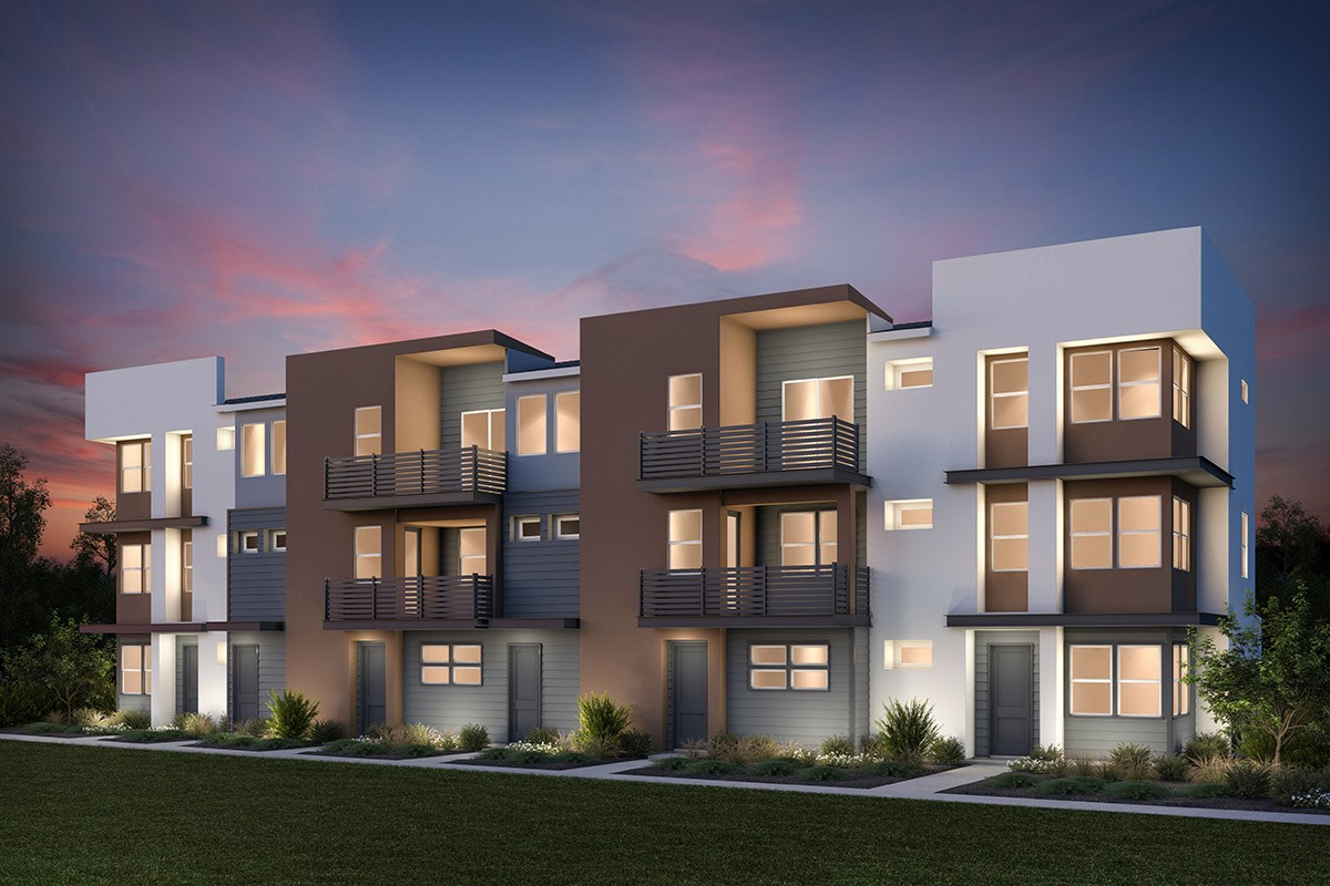New Homes in Milpitas, CA - Lucente 6-Plex Building