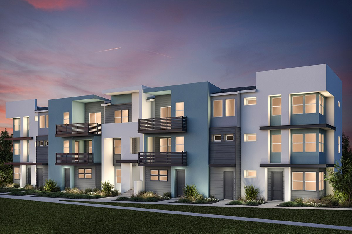 New Homes in Milpitas, CA - Lucente 7-Plex Building