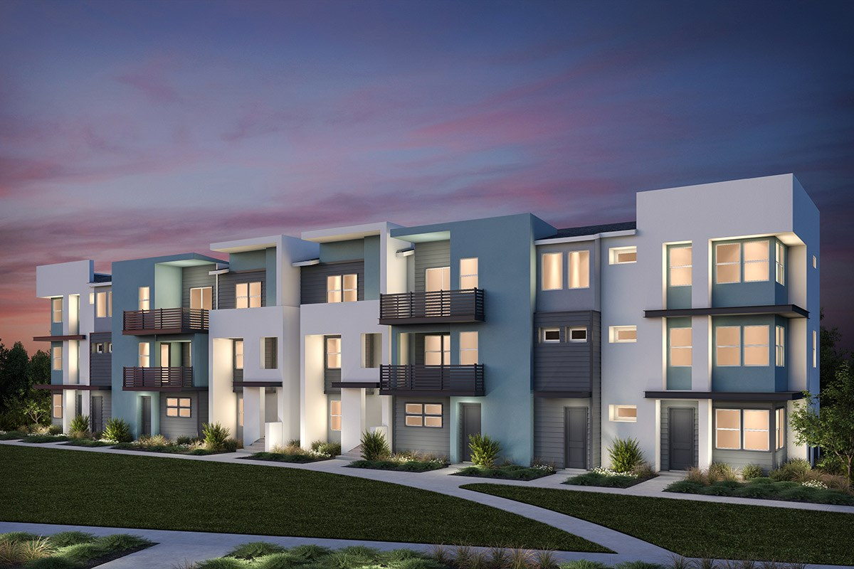 New Homes in Milpitas, CA - Lucente 8-Plex Building