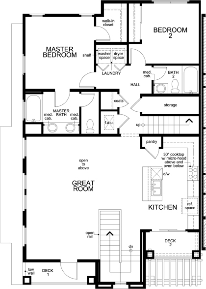 floor plan of third floor