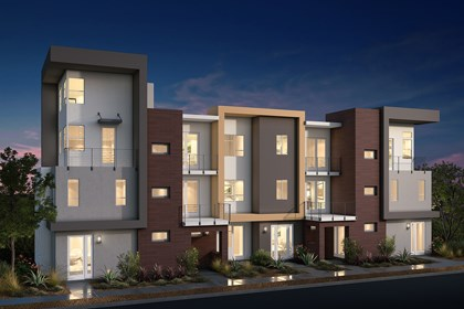 New Homes in San Jose, CA - Contemporary Elevation