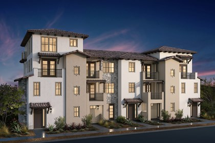New Homes in San Jose, CA - Mediterranean Elevation