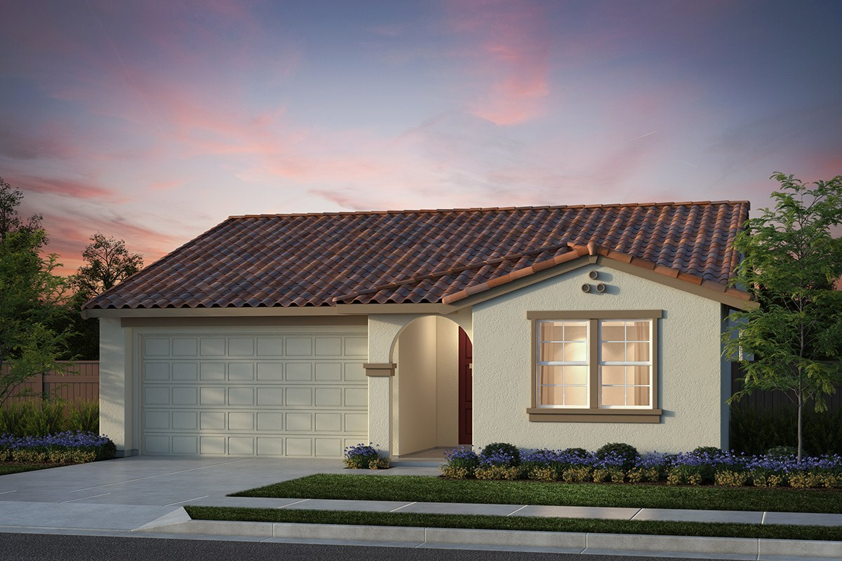 New Homes in Salinas, CA - Monte Bella Plan 1 Spanish Elevation