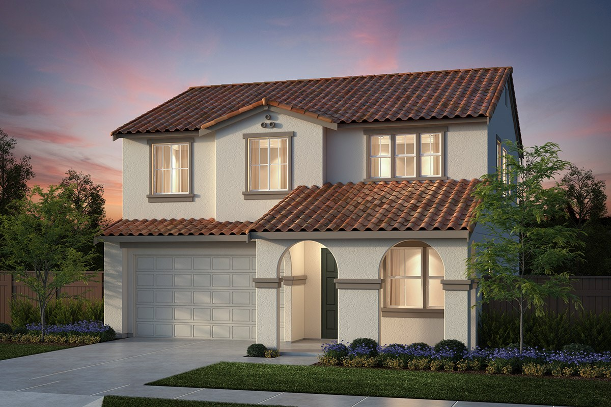 New Homes in Salinas, CA - Monte Bella Plan 2 Spanish Elevation