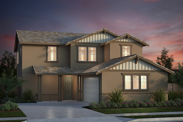 New Homes in Salinas, CA - Plan 3 Craftsman Elevation