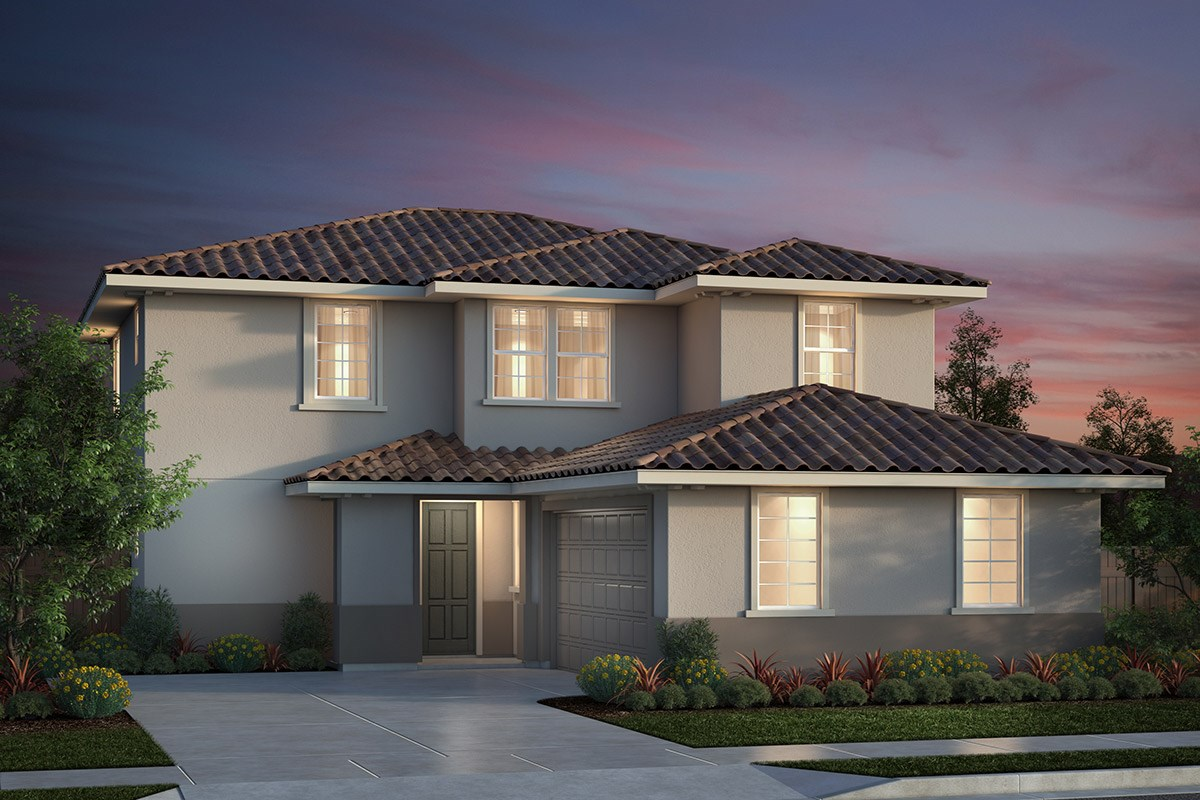 New Homes in Salinas, CA - Monte Bella Plan 3 Italiante Elevation