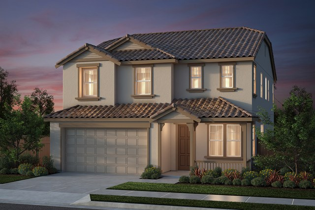 New Homes in Salinas, CA - Plan 4 French Elevation