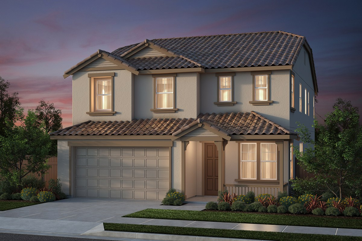New Homes in Salinas, CA - Monte Bella Plan 4 Italiante Elevation