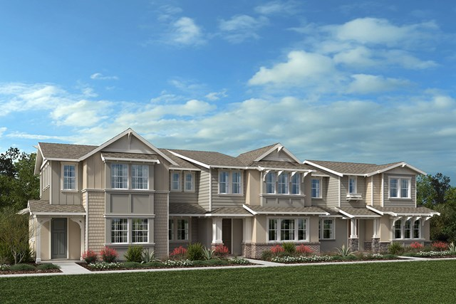 New Homes in Moraga, CA - Plan 5 Building G - Left