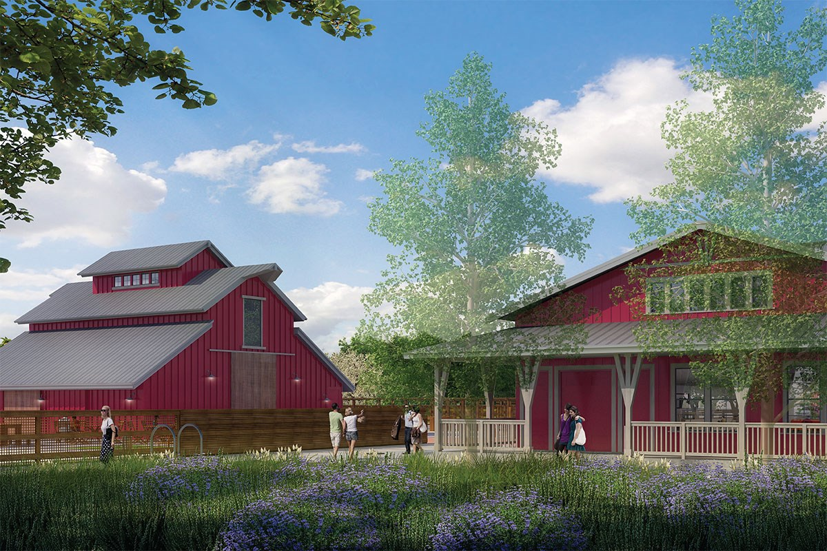 New Homes in Fremont, CA - Laurel at Patterson Ranch Community Farm House and Barn