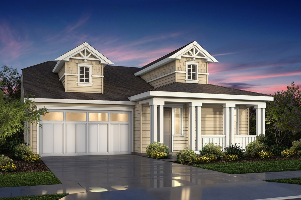 New Homes in Fremont, CA - Magnolia at Patterson Ranch Plan 1 Victorian Elevation