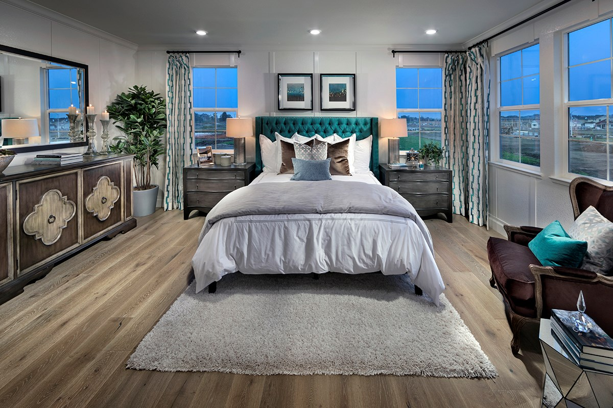 New Homes in Fremont, CA - Magnolia at Patterson Ranch Plan 4 Master Bedroom