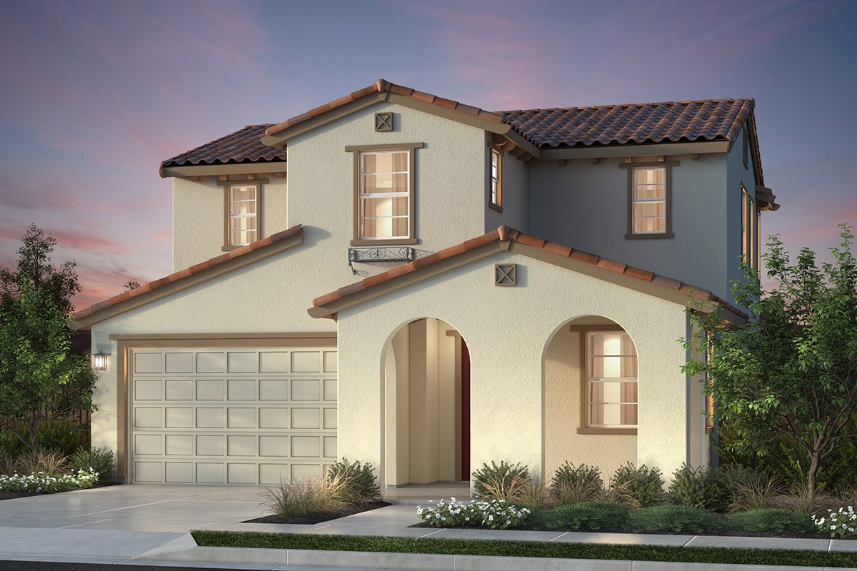 New Homes in Newark, CA - Primrose at Sanctuary Village Plan 1 Spanish 'A'