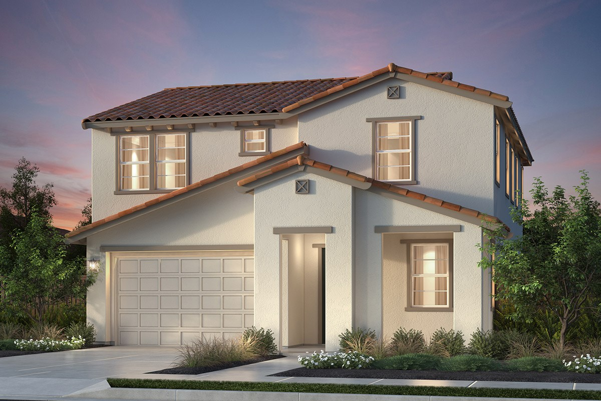 New Homes in Newark, CA - Primrose at Sanctuary Village Plan 2 Spanish 'A'