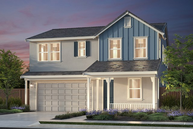 New Homes in Newark, CA - Plan 2 Farmhouse 'C' Elevation