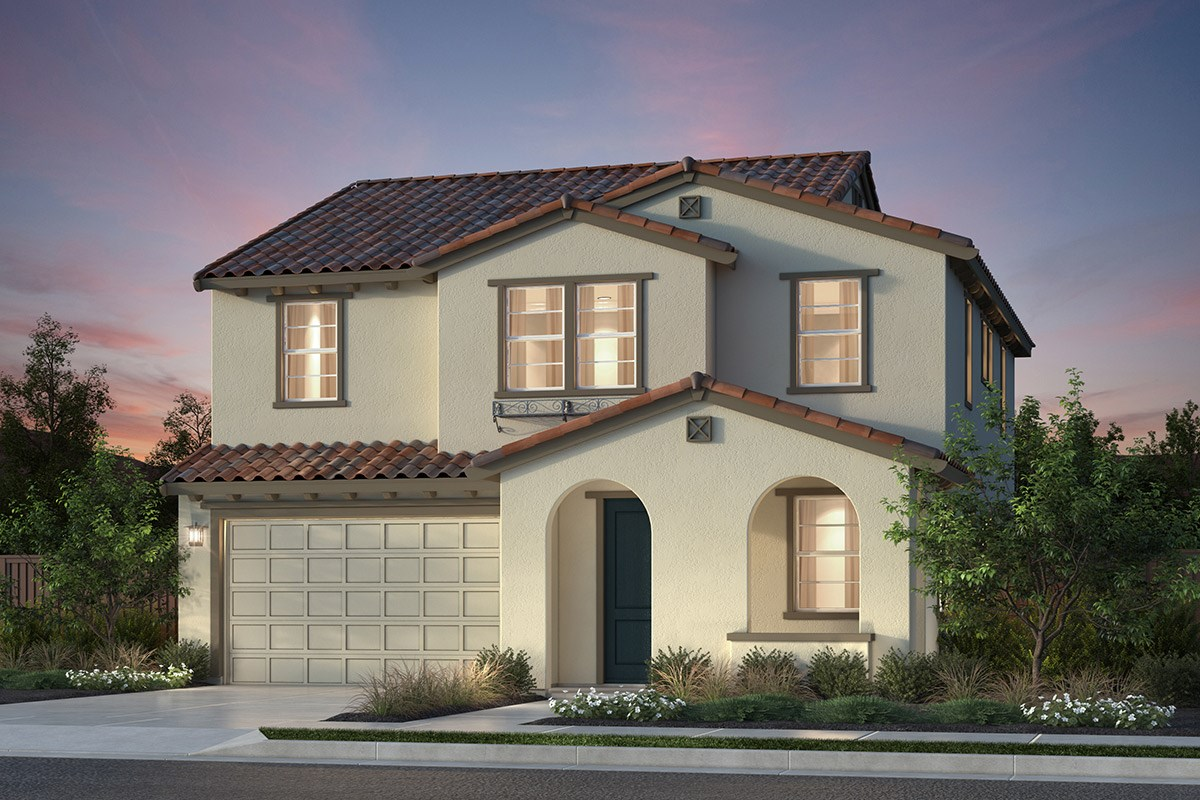 New Homes in Newark, CA - Primrose at Sanctuary Village Plan 3 Spanish 'A'