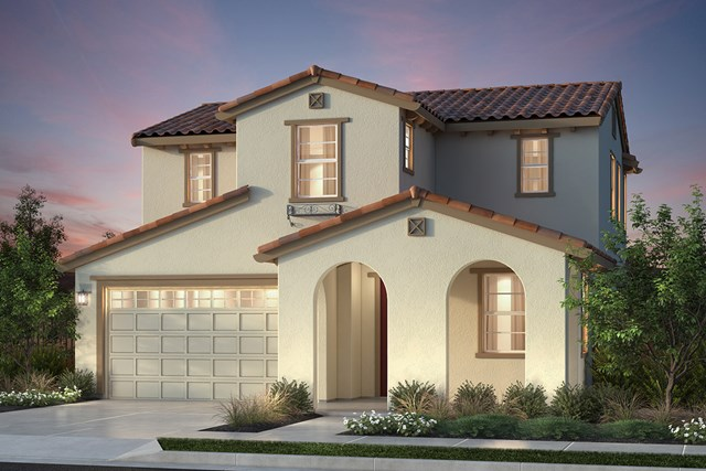 New Homes in Newark, CA - Plan 1 Spanish 'A' Elevation