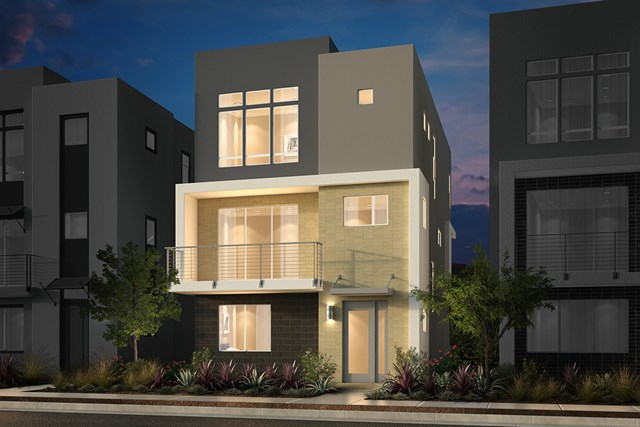 New Homes in San Jose, CA - Contemporary A Ground Level Entry