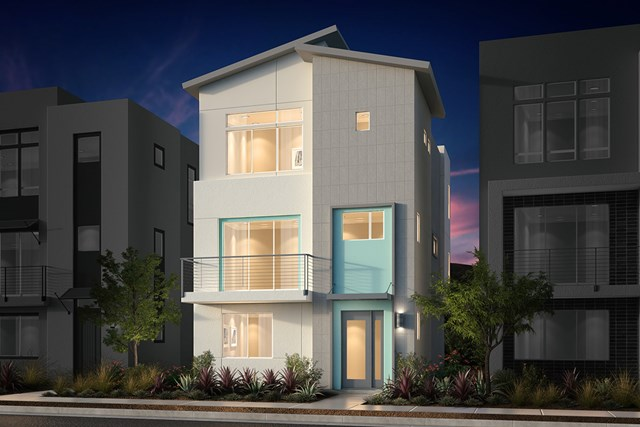 New Homes in San Jose, CA - Contemporary C Ground Level Entry
